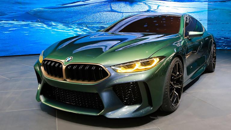 BMW представи четириврата версия на възродената М8 (ВИДЕО)
