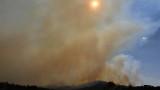 Бедствено положение в района на столицата на Австралия заради пожари