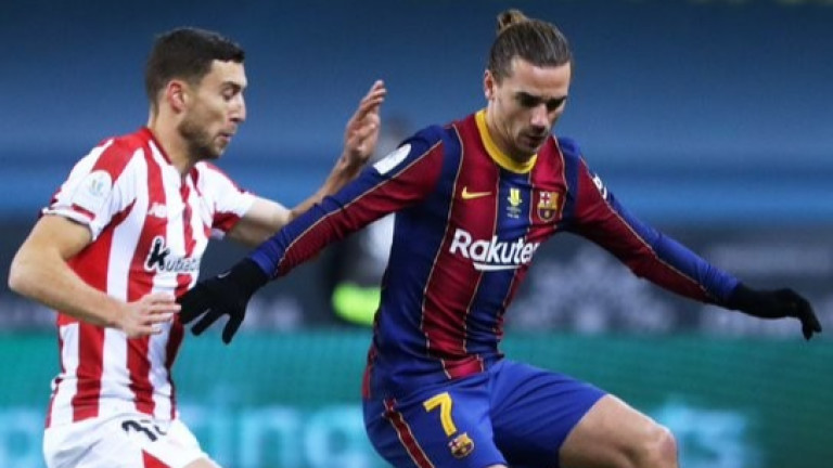 Барселона - Атлетик (Билбао) 2:3, червен картон за Меси!