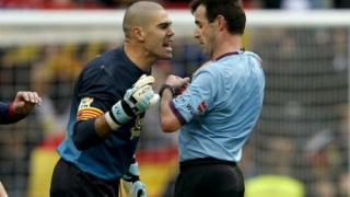 Валдес получи наказание от четири мача