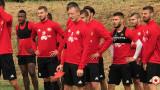Промени в ЦСКА за сблъсъка с Лудогорец
