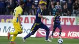 Марибор - Левски 0:0 (Развой на срещата по минути)