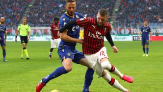 Борбен Верона пропусна да удари Милан