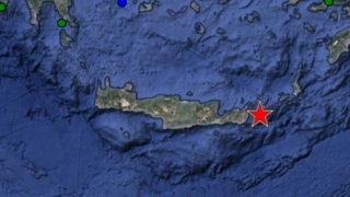 Силно земетресение събуди о. Крит
