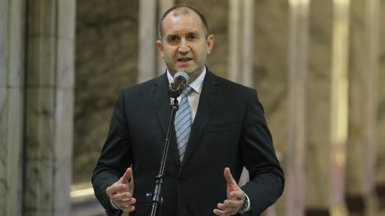 Румен Радев: Много сме дали и много можем да дадем на ЕС