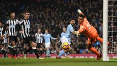 Манчестър Сити наложи волята си над Нюкасъл, Серхио Агуеро с хеттрик