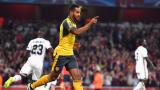 Възходът на Арсенал продължи и в Шампионската лига (ВИДЕО)