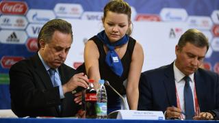 """ФИФА благодари на Мутко за """"отговорната му стъпка"""" да се оттегли от Футболния съюз на Русия"""