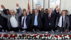 Палестинското правителство с първо заседание в Газа от 2014 г.
