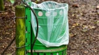 Вандали потрошиха кошчета за боклук в парк в Благоевград