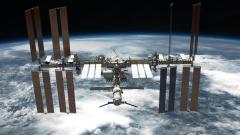 На живо от Космоса - поглед към Земята