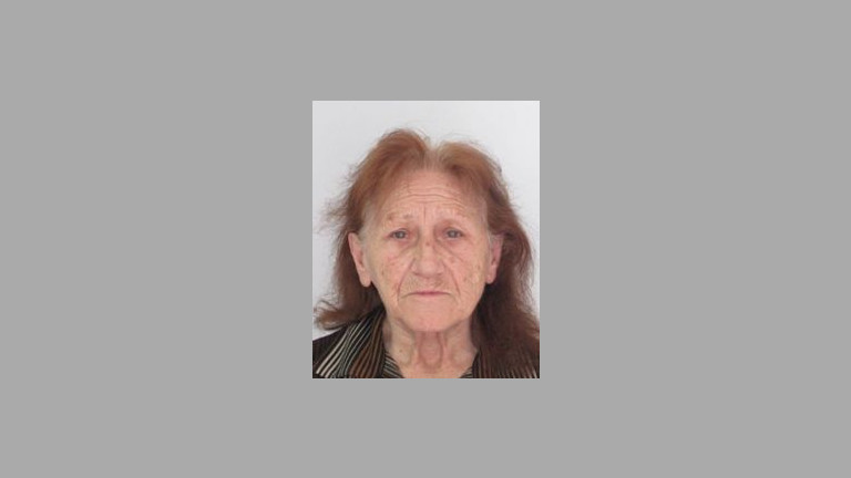 Полицията във Варна издирва възрастна жена