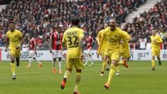 Пари Сен Жермен победи Ница с 2:1 като гост