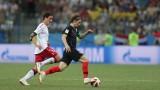 Хърватия - Дания 1:1, започват дузпите!