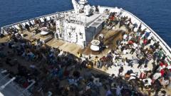Кораби на Норвегия и Дания спасиха 1000 имигранти за 24 часа