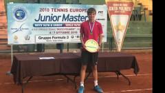 Пьотр Нестеров е тенисист номер 1 на Европа за 2018 г.