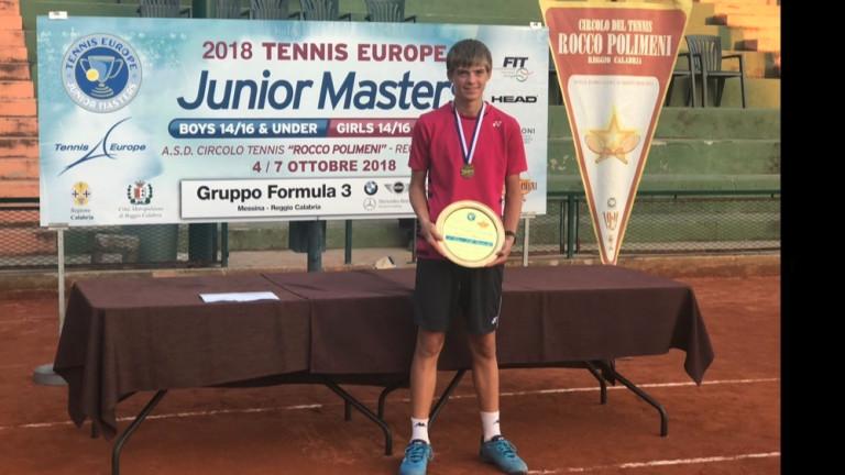 Пьотр Нестеров беше избран за тенисист номер 1 на Европа