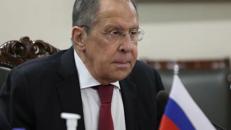 Лавров: САЩ явно ще ни наказват в различни форми, ще отговорим на всяко враждебно действие
