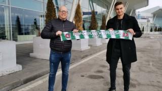 Дориан Бабунски подписа нов договор с Ботев (Враца)