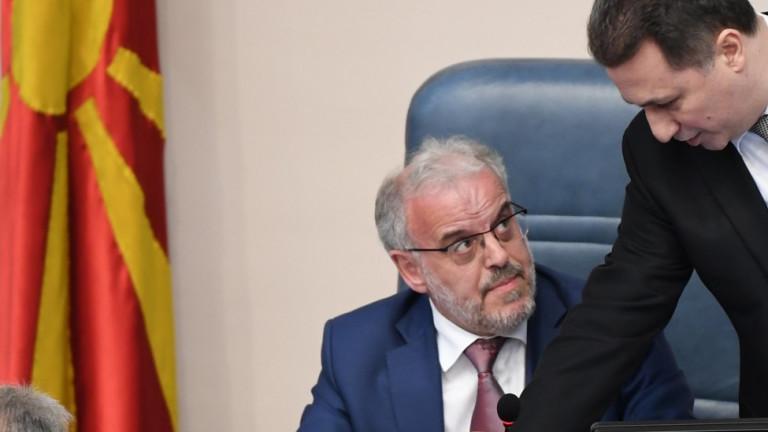 Груевски: Албанец за кратко ще бъде президент на Македония
