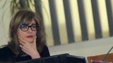 """Казусът """"КТБ"""" е тест за цялата държава, убедена Екатерина Захариева"""