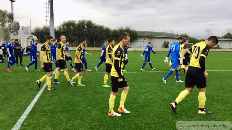 Снимка: Диого донесе успех на Ботев срещу Олександрия