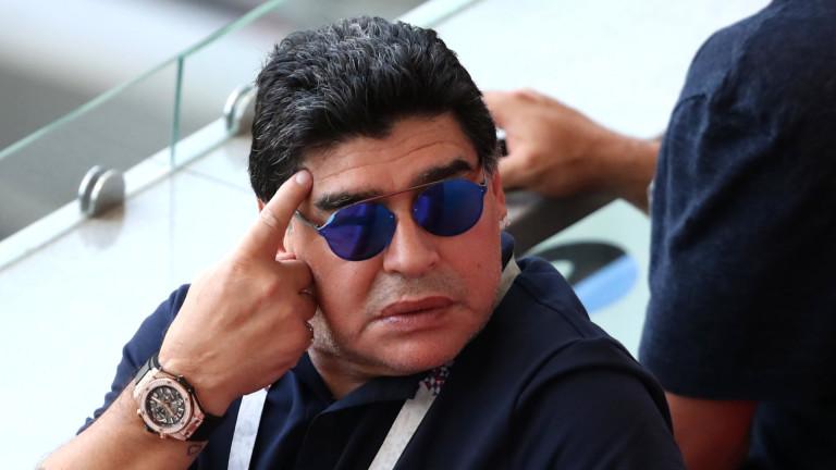 Защо Диего Марадона носеше два часовника