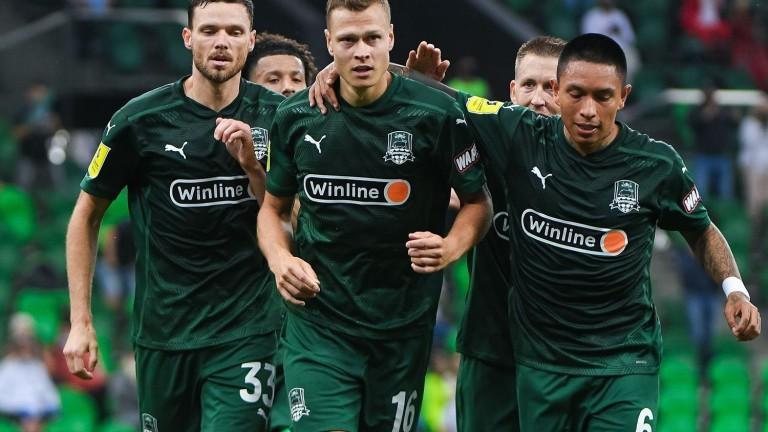 ФК Краснодар взе минимален аванс след първия плейофен мач за