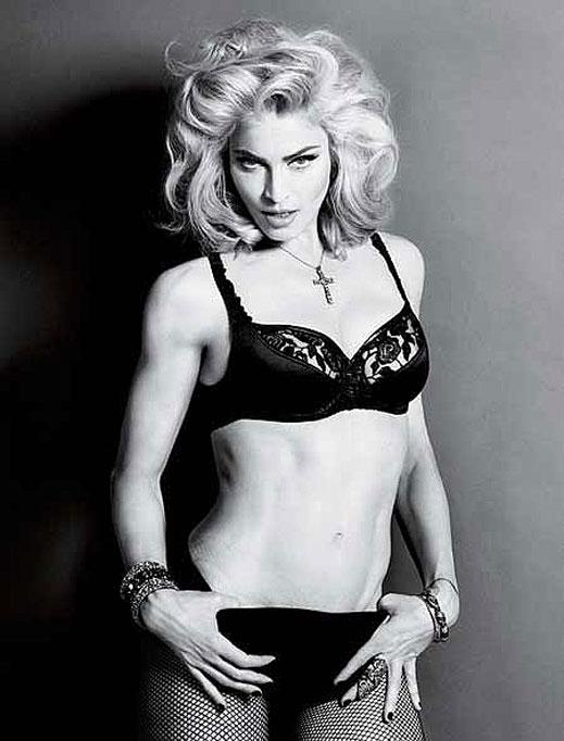 Мадона се разголи за сп. Interview