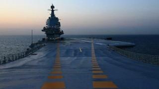 Първият самолетоносач китайско производство завърши пробно плаване