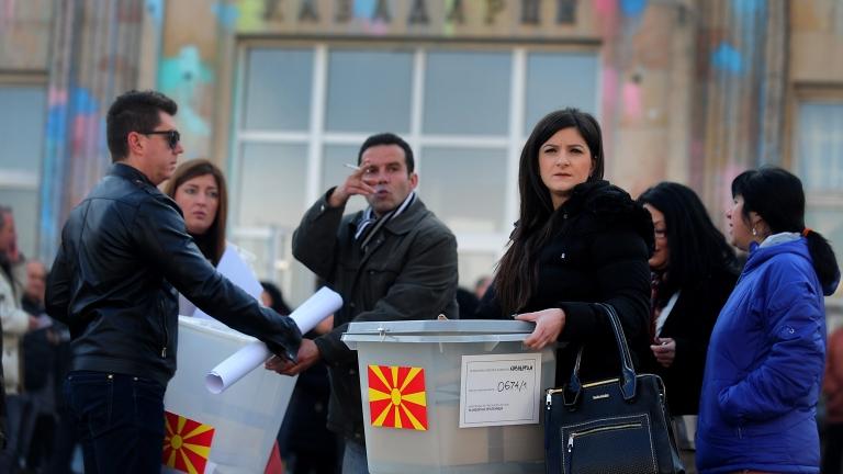 Избори, които потвърдиха разделението в Македония