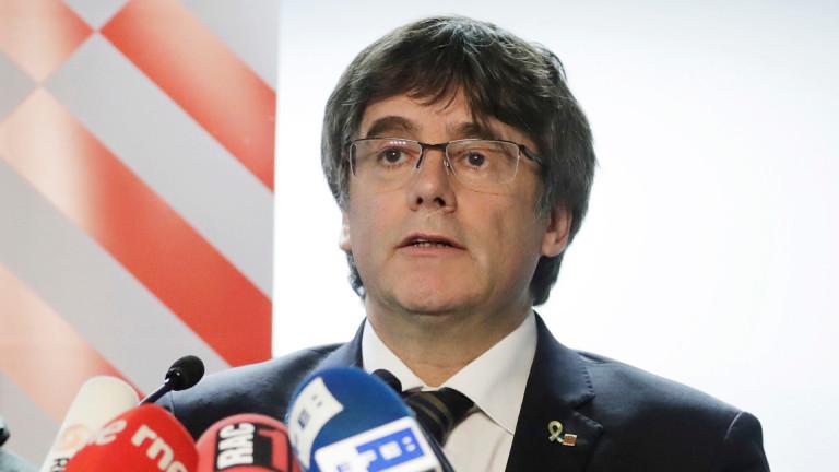 Съд в Белгия прекрати европейската заповед за арест на Пучдемон