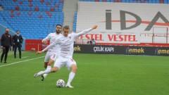 Страхил Попов с цял мач при драматично равенство на Хатайспор
