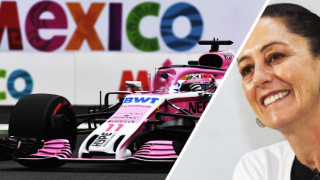 """Клаудия Шайнбаум успокои феновете, """"Гран При"""" на Мексико ще има и догодина"""