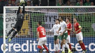 Швейцария пречупи Ирландия и запази шансове за Евро 2020