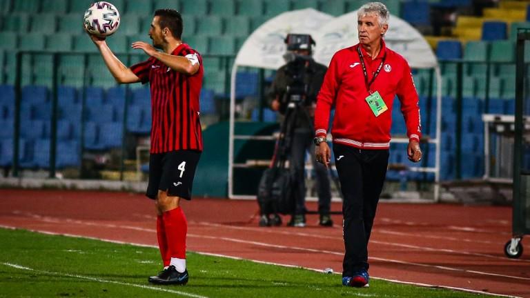 Треньорът на Локомотив (София) Иван Колев призна след победата на