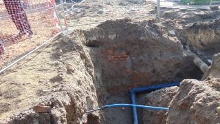 Откриха древна гробница при изкоп в Пловдив