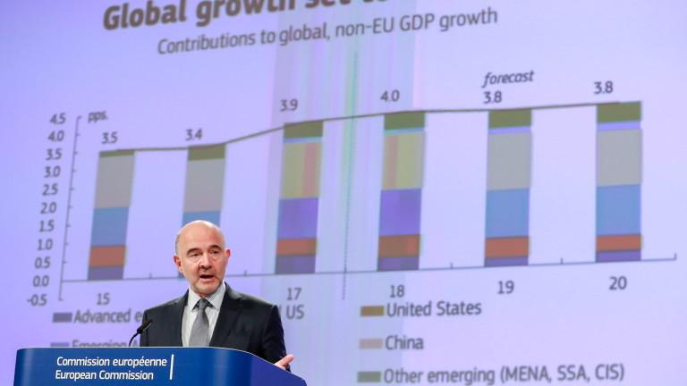 ЕК предвижда силна икономика на България с ниска безработица