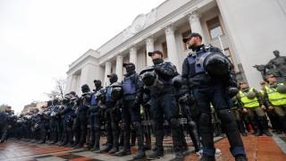 Протестиращи в Украйна искат отмяна на депутатския имунитет