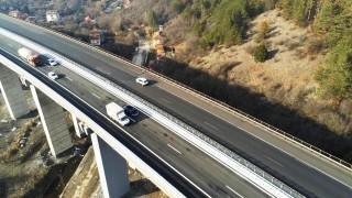 """Пуснаха движението по ремонтираното платно за Варна на АМ """"Хемус"""""""
