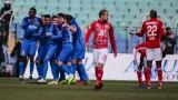 Левски победи ЦСКА с 1:0 в голямото дерби на кръга от Първа лига