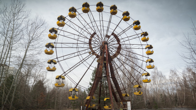 Селфи в Чернобил