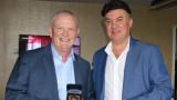 Президентът на Английската футболна федерация проведе среща с Борислав Михайлов