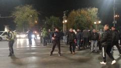Протестиращи полицаи блокират Орлов мост