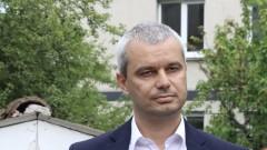 """Цивилни полицаи задърхажа лидера на """"Възраждане"""" Костадин Костадинов"""