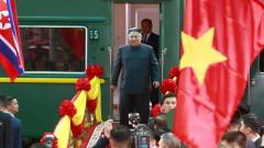 Ким Чен-ун пристигна във Виетнам с бронирания си влак след 4000 км пътуване