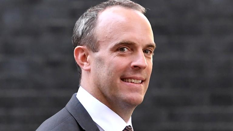 Британският министър за излизане на Великобритания от Европейския съюз (Брекзит)