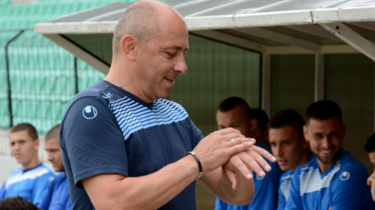 Треньорът на Черно море Илиан Илиев определи групата за първия