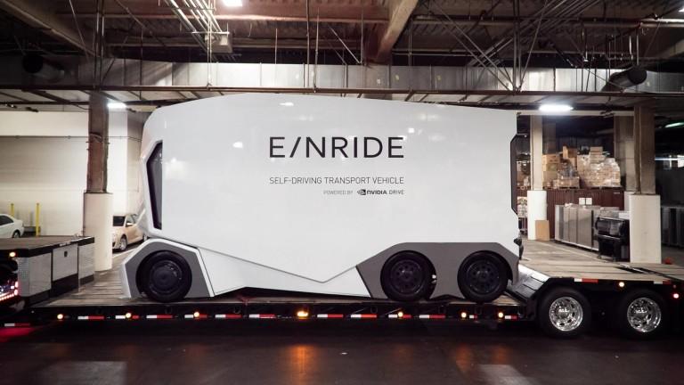 Шведска компания набра $10 милиона за разработване на автономни електрически камиони