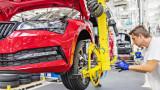 Skoda няма да успее да произведе 250 хил. автомобила заради недостига на полупроводници